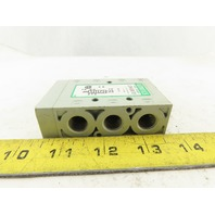 Numatics L22BA452B017G61 5/2 Position Pneumatic Valve No Solenoid