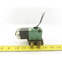 Numatics 11SAD4440 2/2 Position Solenoid Directional Valve 150PSI 120V Coil