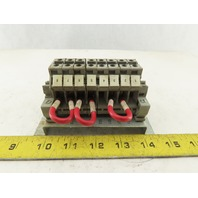 Fanuc A05B-2401-C420 8 Pole Wire Terminal Contactor Assembly