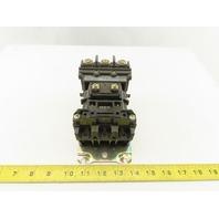 Allen Bradley 500-A0D93 Size 0 Magnetic Contactor Starter 600V 5Hp 120V Coil
