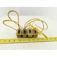 Detroit Coil Co. 139-128P 139-132P Mixed Lot Coils 120V 60Hz Lot Of 4