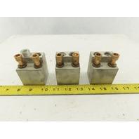 Gould TA2-K500 #1-200 MC Aluminum Circuit Breaker Lug Lot Of 3