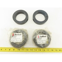 """Stafford 8L215 2-15/16"""" 2 Piece Clamp Collar Lot Of 4"""