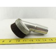 "Dayton 6X885 Vacuum Dust Brush 3"" Metal For 1-1/2"" Hose"