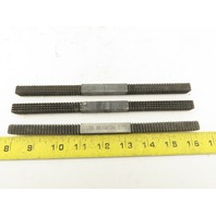 Jawco Nu Thread #1 #2 #8 Metric Thread Restoring File Multiple Pitch Lot OF 3