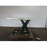 """Southworth LS4-36 4000 Lb. 60""""x48"""" Hydraulic Scissor Lift Table 10-46"""" Ht. 115V"""