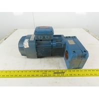 Demag AFM05-D-M-0-1-33-3 0.8Hp Gear motor 116:1 Ratio 28.45RPM 230/460V 3Ph