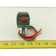 """Asco SV311A02N6BF5 Red Hat 120V 1/4"""" NPT Normally Closed Gas Shut Off Valve"""