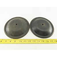 """Armour Spray Systems 5221-N 6-3/4"""" OD Pneumatic Pump Diaphragms Lot Of 2"""
