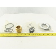 "Milwaukee Cylinder 00121-1/8-60 1-1/8"" Bore Cylinder Rod Gland Bushing Seal Kit"