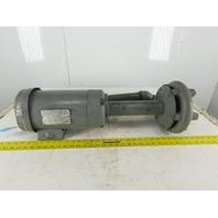 "Gusher 11029-XL Coolant pump 1.5HP 230/460V 3Ph 13-1/2"" Stem 1-1/4 NPT"