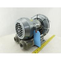 Gast Regenair R3305A-1 Air Blower 53cfm Max Output Flow 208-230/460V 3Ph 3450RPM