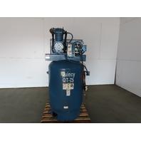 Quincy QT-7.5 Vertical 120 Gallon Reciprocating Air Compressor 208-230/480V 3Ph