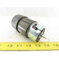Cooper CS8464 Hart Lock 50A 480V 2P 3W Female Plug
