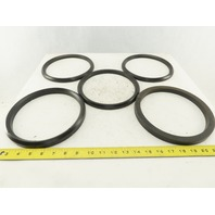 Loewy Machinery Packing Rings 180 x 210 x 50.5mm Set Base Ring and 4 U-Cup Seals