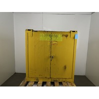 """Securall A330 Flammable Storage Cabinet 30 Gal. Capacity 46""""H x 43""""W x 18""""D"""