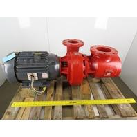 "Krumy/Aurora C1050AM-BF 20Hp 5""x 6"" Centrifugal Pump 230/460V 3Ph W/Diffuser"