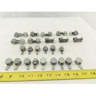 80/20 Inc. Metric Cam Channel Anchors And Parts  Mixed Lot Of 25 Pcs.