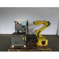 Fanuc M-6i 6 Axis Robot System W/RJ2 Controller & Teach Pendent Calibrated