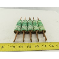 Buss Bussmann KTN-R-100 250V 100A Fast Acting Current Limiting Fuse Lot of 5