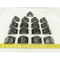 Unistrut P1026 2 Hole 90° Steel Angle Bracket Lot of 17