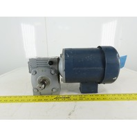 Leeson Canimex Model CC 60:1 Ratio 28.75RPM 3/4Hp 3Ph 208-230/460V Gear Motor