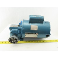Reliance FB56WG12A 1/3Hp Gear Motor 115/230V 1Ph 7.51 Ratio 233RPM