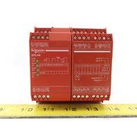Schneider Electric XPSAR311144P E- Stop Safety Relay Module 24VDC 2A