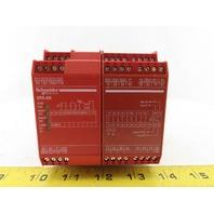 Schneider Electric XPSAR351144P E- Stop Safety Relay Module DIN Rail Mount
