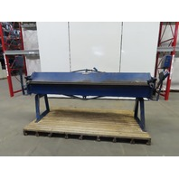 Whitney Jensen 18 Gauge Capacity Steel/Aluminum Sheet Metal Bending Brake 8'