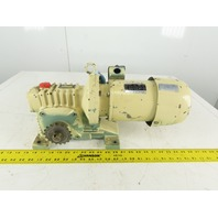 Mitsubishi SF-ERF 25:1 Ratio 68RPM Output 0.4kW 200/220V 50/60Hz Gear Motor