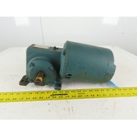 Reliance 56WG16A 20:1 87 RPM 1/2Hp 230/460V 3Ph Left Hand Gear Motor
