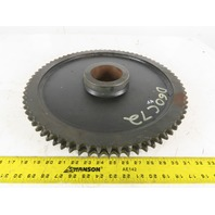 "Martin D60C72 #60 Double Roller Sprocket 72 Teeth 3-1/2"" Bore"