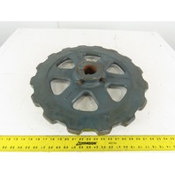 "Link-Belt C40234 16 Teeth Sprocket 2-7/16"" Keyed Bore"