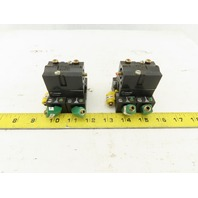 Crouzet 81523601 Pneumatic Logic Memory Element W/81542002 Sub-Base Lot of 2