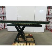 """Southworth 2500Lb. 84""""x47"""" Hydraulic Scissor Lift Roller Turn Table 115V 1Ph"""