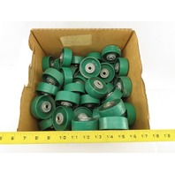 3D Storage Systems 2.875 Diameter Polycarbonate Flow Rack Wheel Rollers Lot/60
