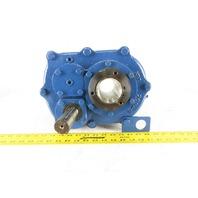 NAE NBS-203-3-25 25:1 Ratio 69 RPM Thru Shaft Output Torque Arm Gear Reducer