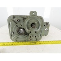 Dorris 107TRC40 40:1 43.75RPM Parallel Shaft Mount Gear Drive Box Speed Reducer