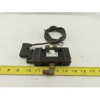 Parker B511BB549C 5/2 Way Single Solenoid Directional Valve 150 PSI Air 24VDC