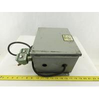 "Wiegmann B100806CHWW 10 x 8 x 6"" Type 12 Electrical Enclosure J-Box Extras"