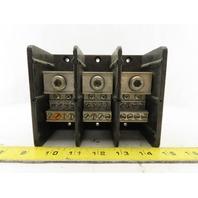 Square D LBA364108 Class 9080 #6-400 MCM 1 Pole To 8 Way Distribution Block