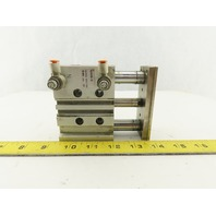 SMC MGPM25N-30 25mm Bore 30mm Stroke Compact Guided Cylinder 145 PSI