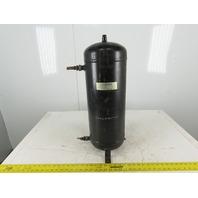 Standard Refrigeration 85VR24 Vertical Refrigerant Receiver Tank 5 USG 450PSI