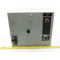 General Electric Type FVNR Model 8000 208V 1/2Hp 3Ph Size 1 MCC Bucket Starter