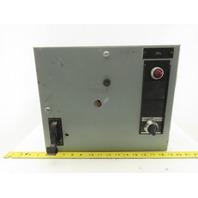 General Electric Type FVNR Model 8000 208V 2Hp 3Ph Size 1 MCC Bucket Starter