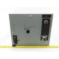 General Electric Type FVNR Model 8000 208V 3Hp 3Ph Size 1 MCC Bucket Starter