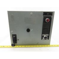 General Electric Type FVNR Model 8000 208V 1/3Hp 3Ph Size 1 MCC Bucket Starter