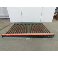 "Roach Power Roller Case Conveyor 66""x99"" Chain Drive Slave Driven 60"" Surface"