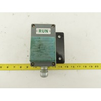 Square D 9001 P-4 Ser. 4 Palm Operated Run Button 600V AC/DC